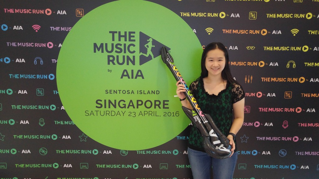 I was invited to the 2016 launch event of the MUSIC RUN by AIA last evening.