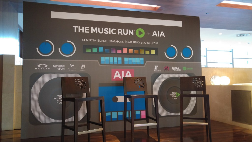 The MUSIC RUN will comprise of 5 different music zones.