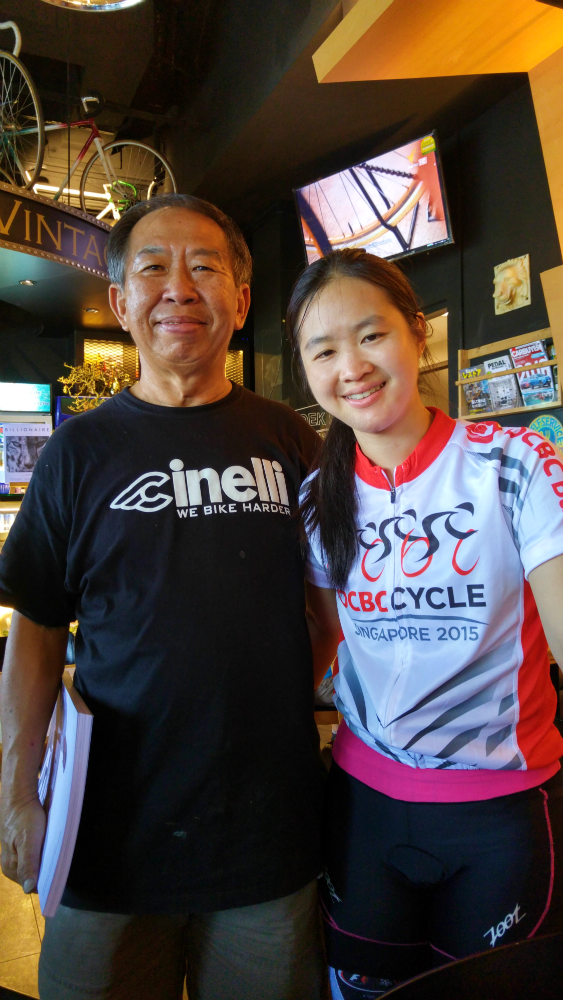 The owner, Png, is a cycling enthusiast himself.