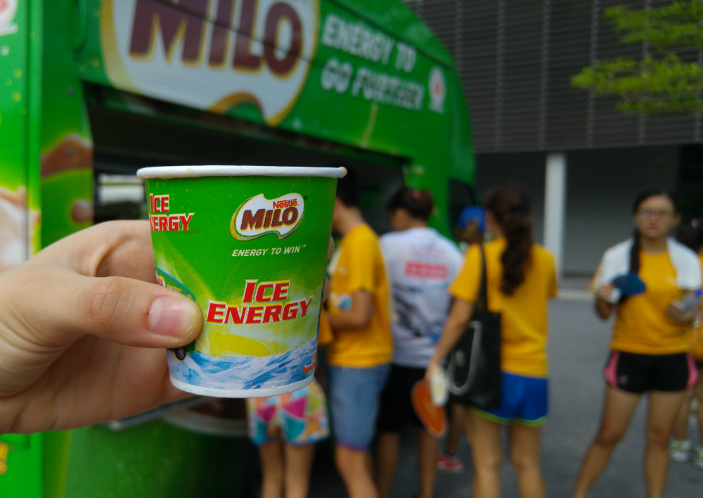 MILO was served at the event.