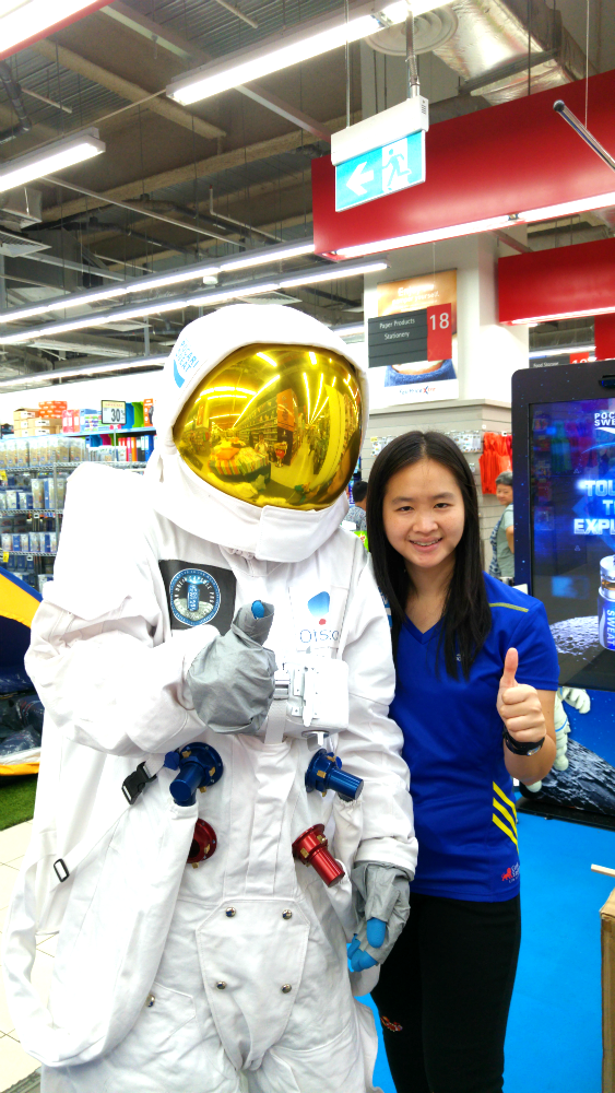 With the Pocari Sweat astronaut.