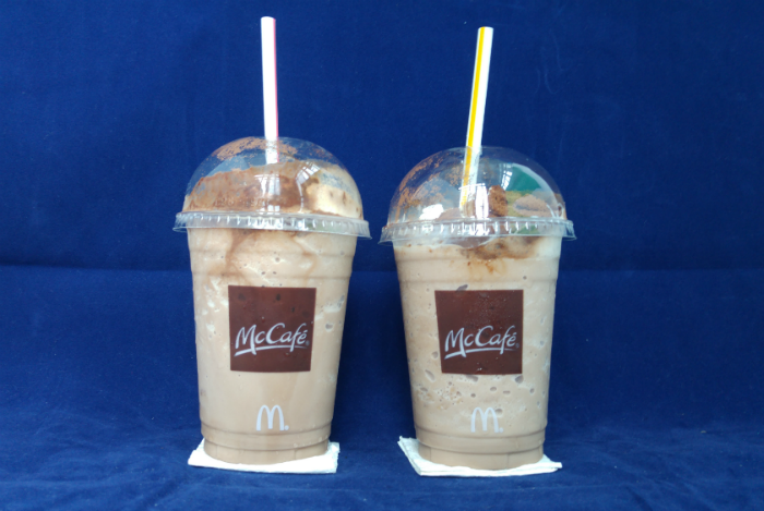 I redeemed the drink from McCafe.