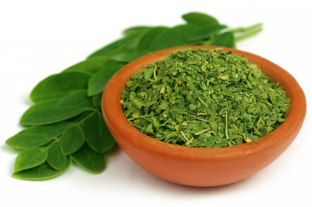 Moringa is a nutrient rich superfood. Photo Source moringafarms.com