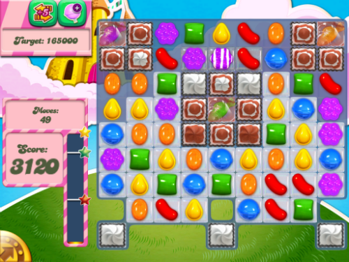 Level 285 of Candy Crush Saga is possible to beat.