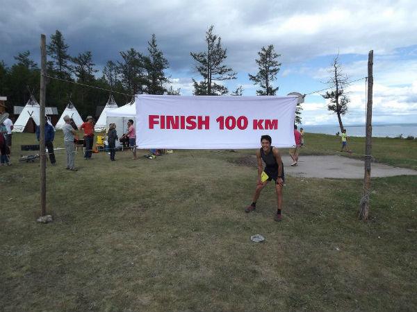 Mongolian Sunset to Sunrise 100km Ultra Marathon.