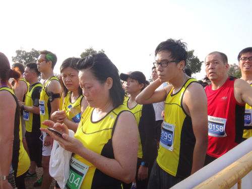 Runners at the 2XU Compression Run 2014.