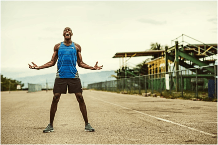 Usain Bolt likes Puma's new PWRcool technology. Credit: Puma.