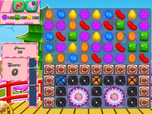 Level 377 of Candy Crush Saga can be beaten.