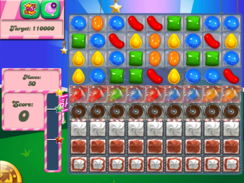 Level 404 of Candy Crush Saga can be beaten.