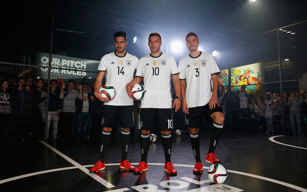 Germany s Euro 2016 home kit has been unveiled. photo by adidas. 6946d9d58