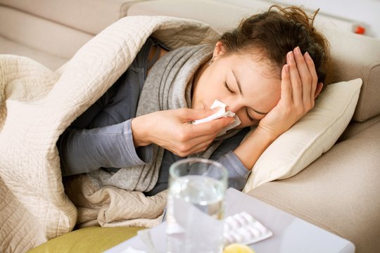 You should back off running if you are feeling under the weather. [Photo from www.apartmenttherapy.com]