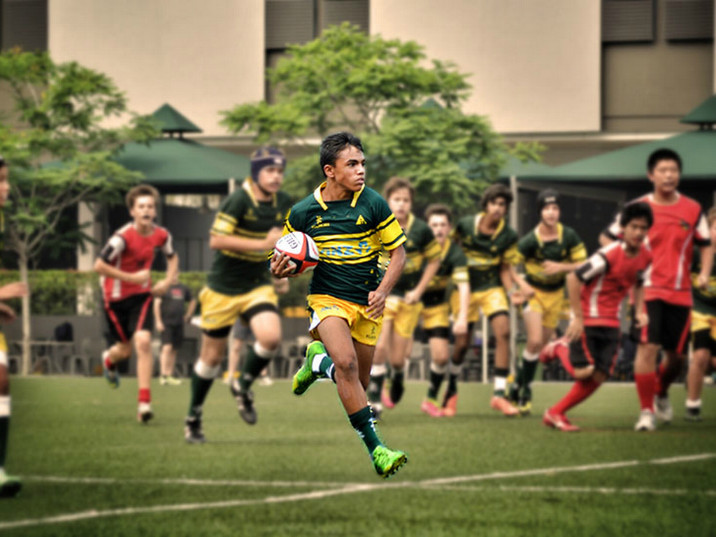 Young school-age rugby players in Singapore should not give up on their dreams. [Photo by www.expatliving.sg]