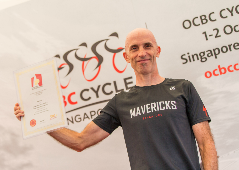 Alan Grant from Specialised Mavericks. (Photo Credit: OCBC Cycle)