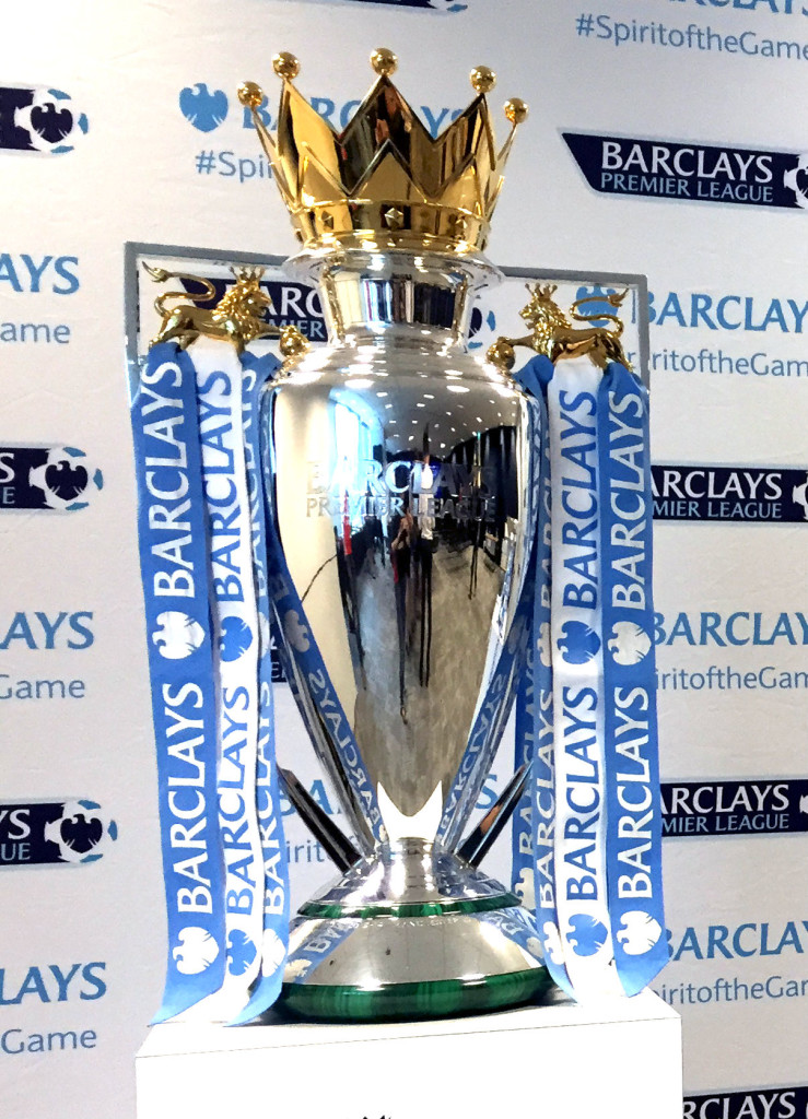 The BPL trophy this season is Leicester City's.
