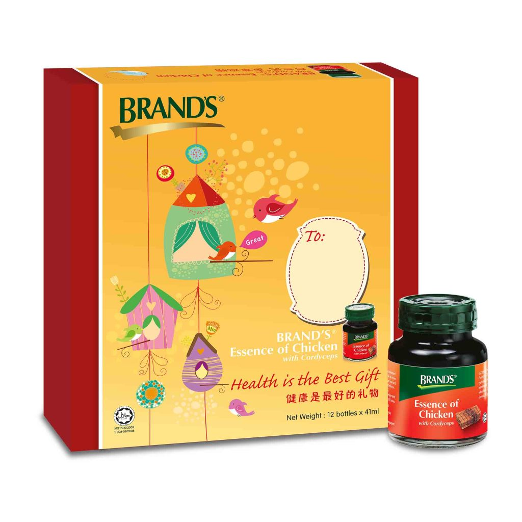 BRAND'S® Essence of Chicken with Cordycep Gift Pack. (Image Credit: BRAND'S®)