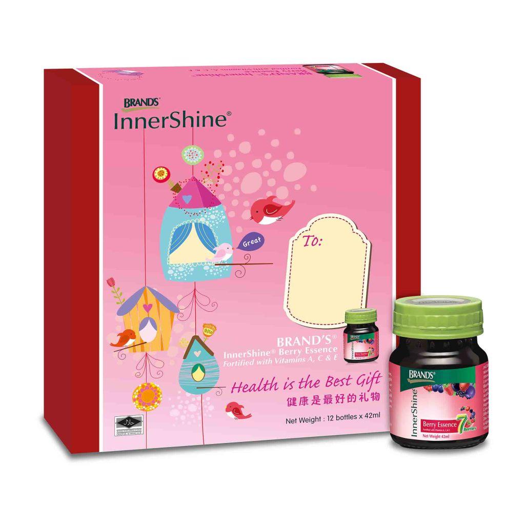 BRAND'S® InnerShine® Berry Essence Gift pack. (Image Credit: BRAND'S®)