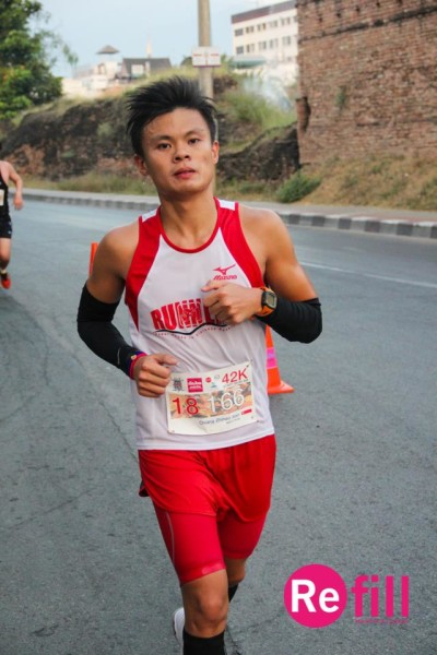 Alan Chiang at the Chiang Mai Marathon. (PHOTO: ALAN CHIANG)