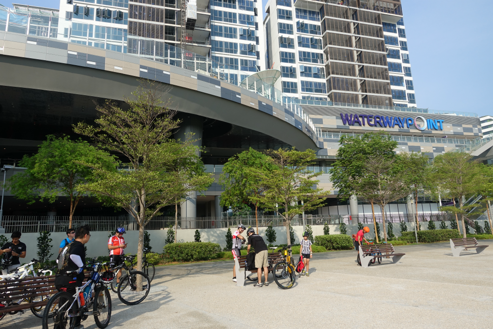 Our first stop was the Punggol Waterway Point Mall.