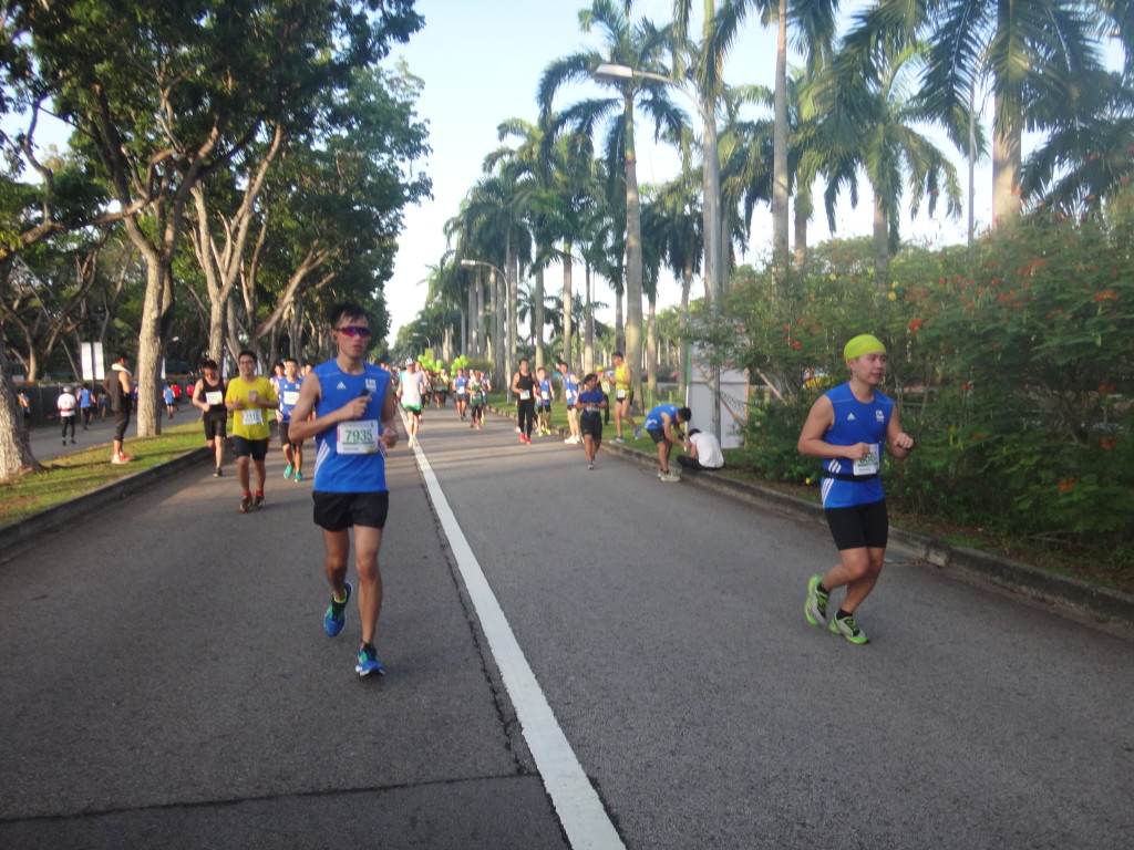 Runners at East Coast Park.