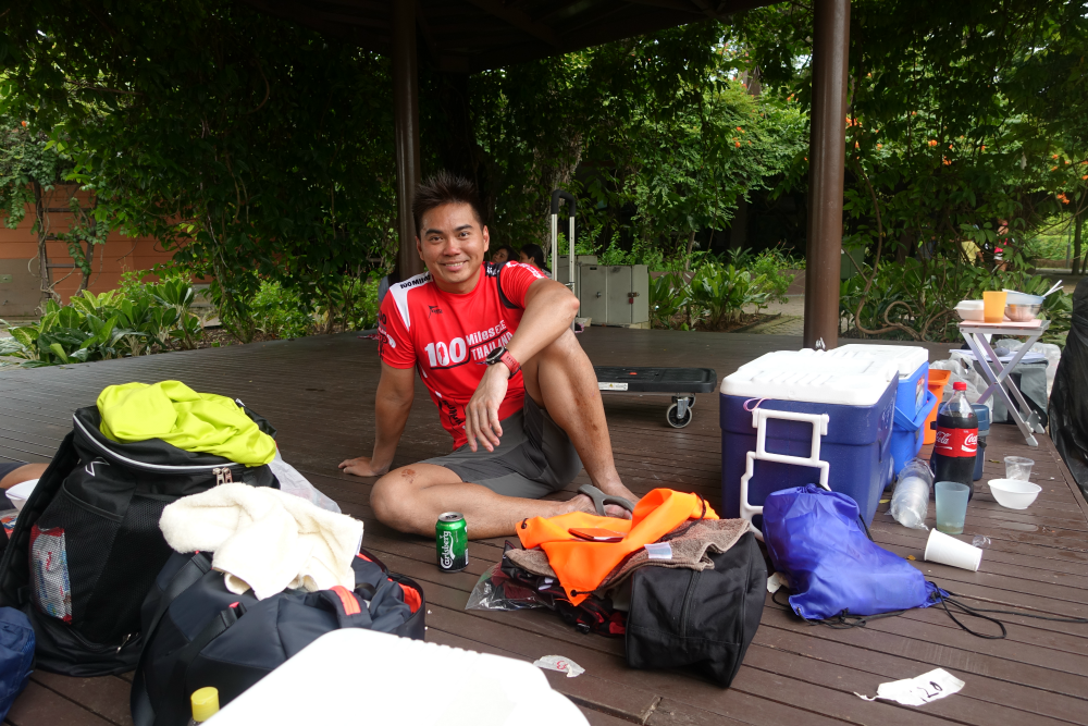 Max Woon loves the friendship and camaraderie at these ultra events.