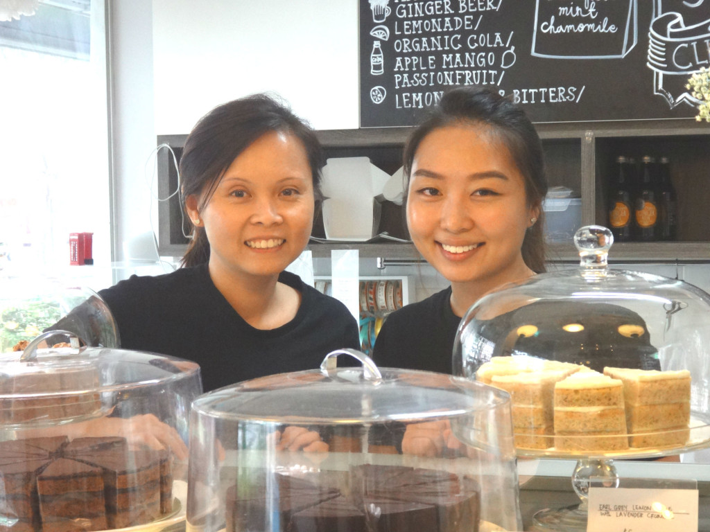 Ann Chong and Ng Hu Yi, the founders of Bloomsbury Bakers.