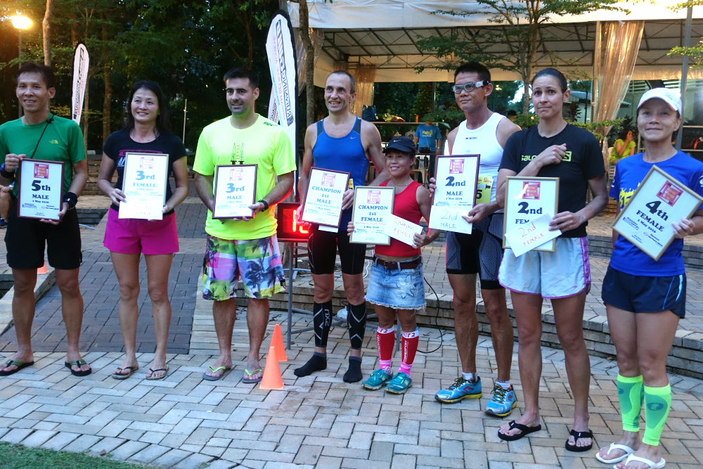 The winners of the inaugural Garang Warrior Ultra.