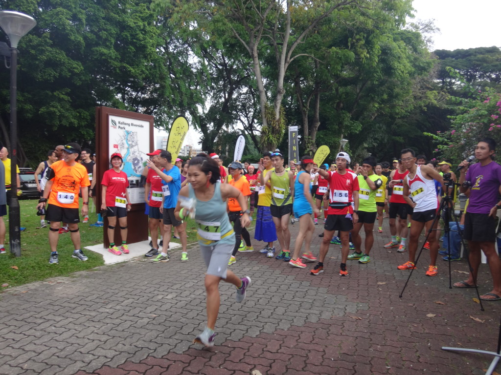 The aims of the Banana Relay is to promote friendship and bonding amongst runners.