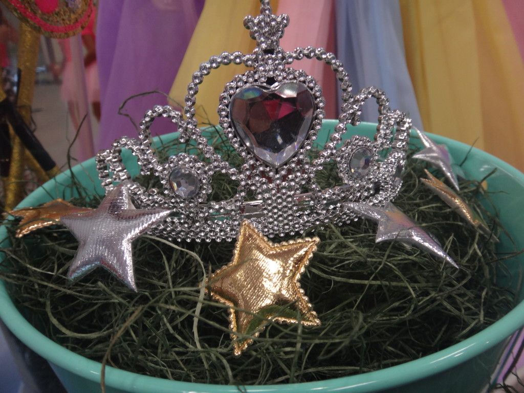 Little girls will love the princess tiara upon completion of their run.