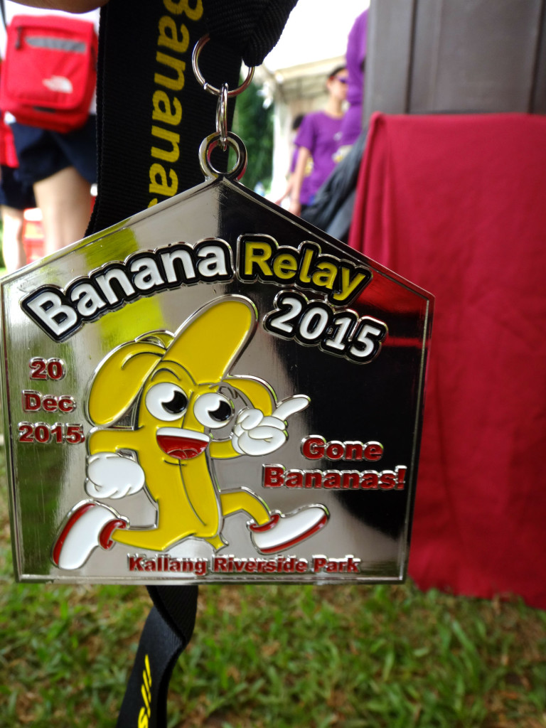 The Banana Relay 2015.