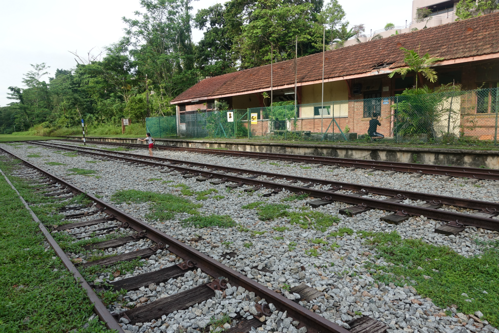 Who could forget the iconic Bukit Timah Rail Station?