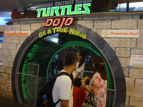 Learn to become a ninja warrior at the TMNT Dojo exhibition.