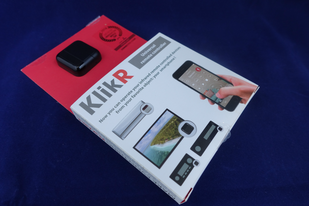 Astro Sports sent me a KlikR unit to review.