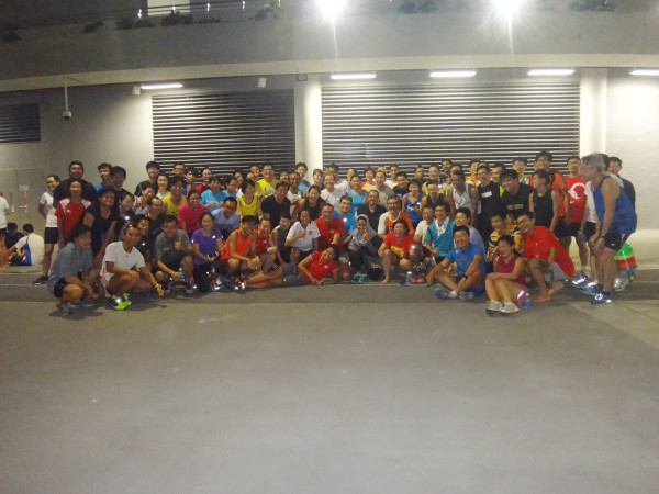 Active SG members had a great time at last night's running clinic.