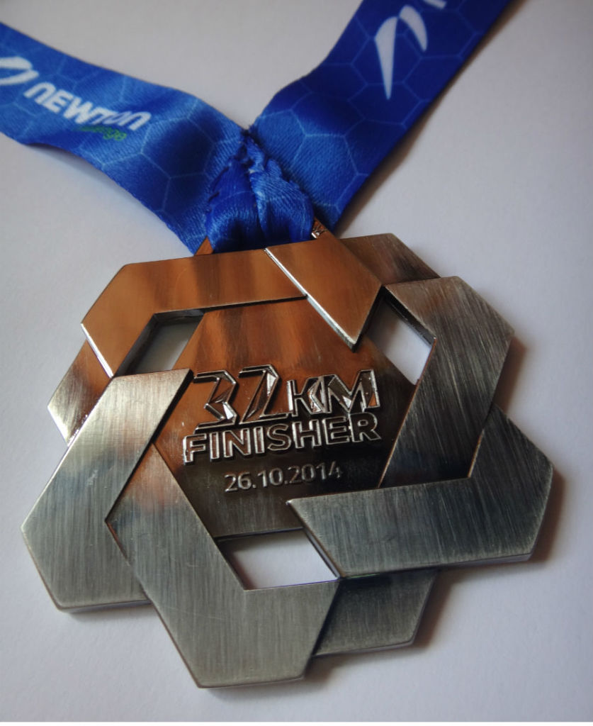 The Newton Challenge medal is one of the nicer looking ones so far.