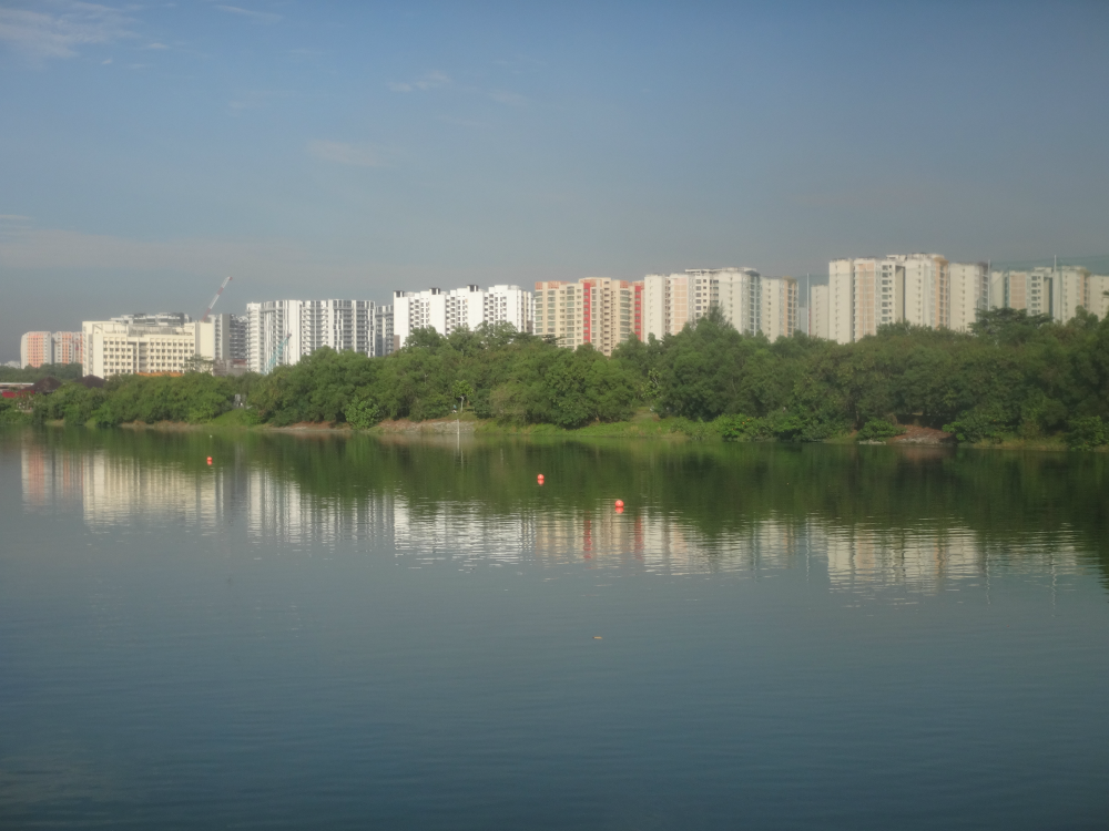 Punggol Promenade also offered some picturesque views.