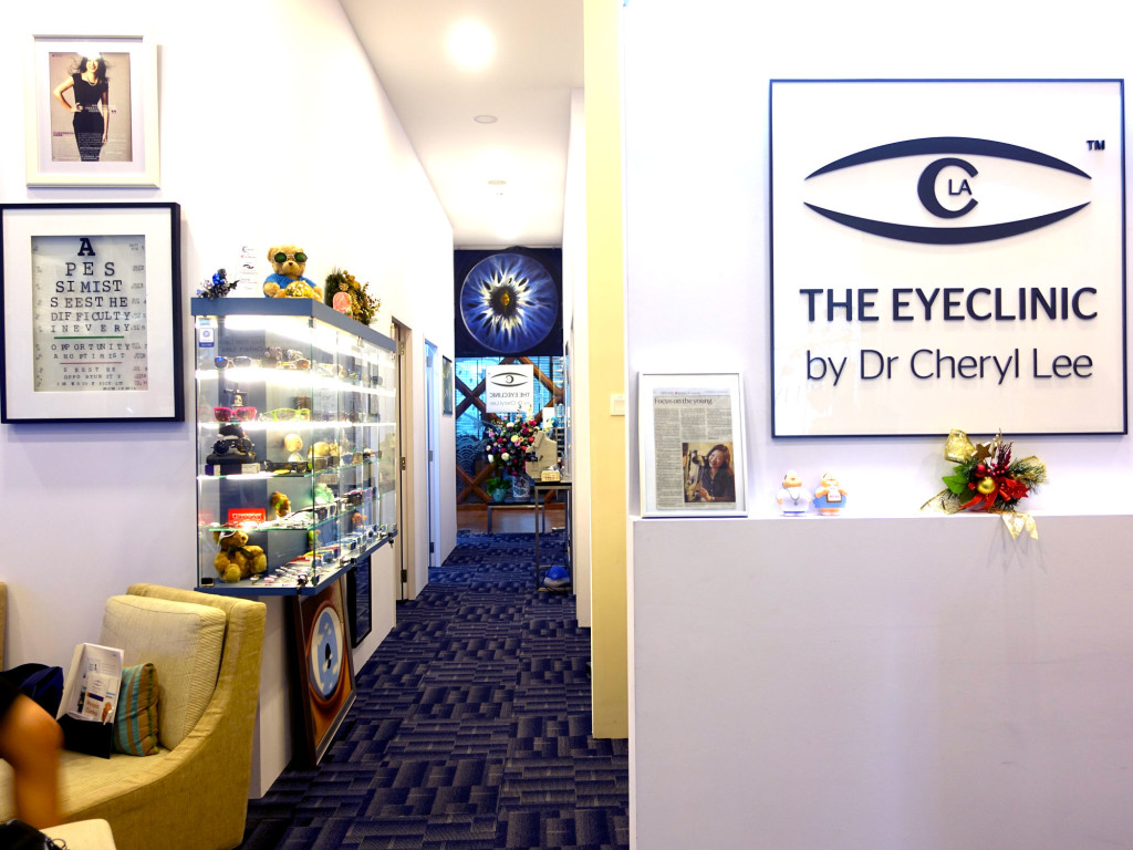 Welcome to The EyeClinic by Dr Cheryl Lee.