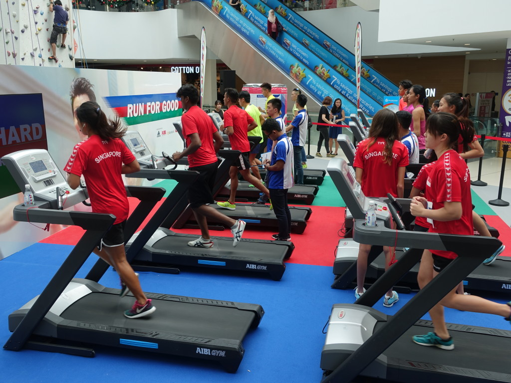 The public can take part in Run For Good tomorrow and Sunday.