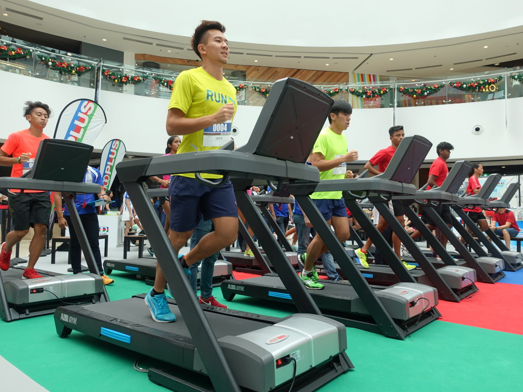 National athletes running for charity.
