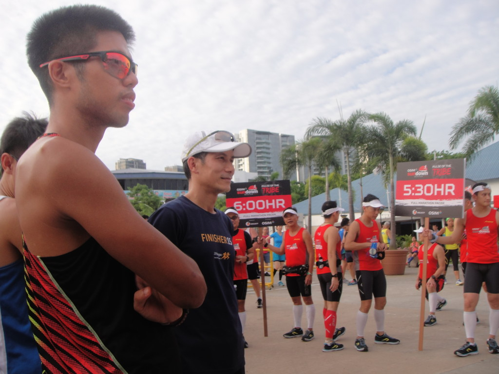 Top runner Marcus Ong was one of the participants.