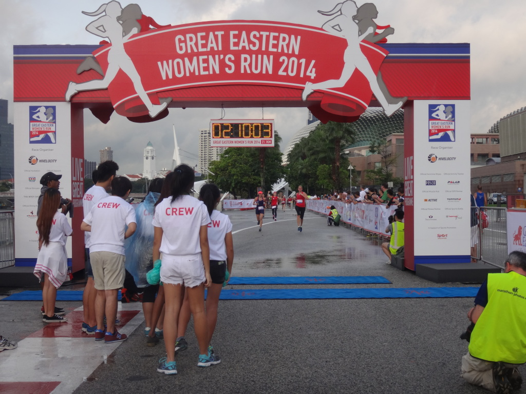 The GE Women's Run took place this morning.
