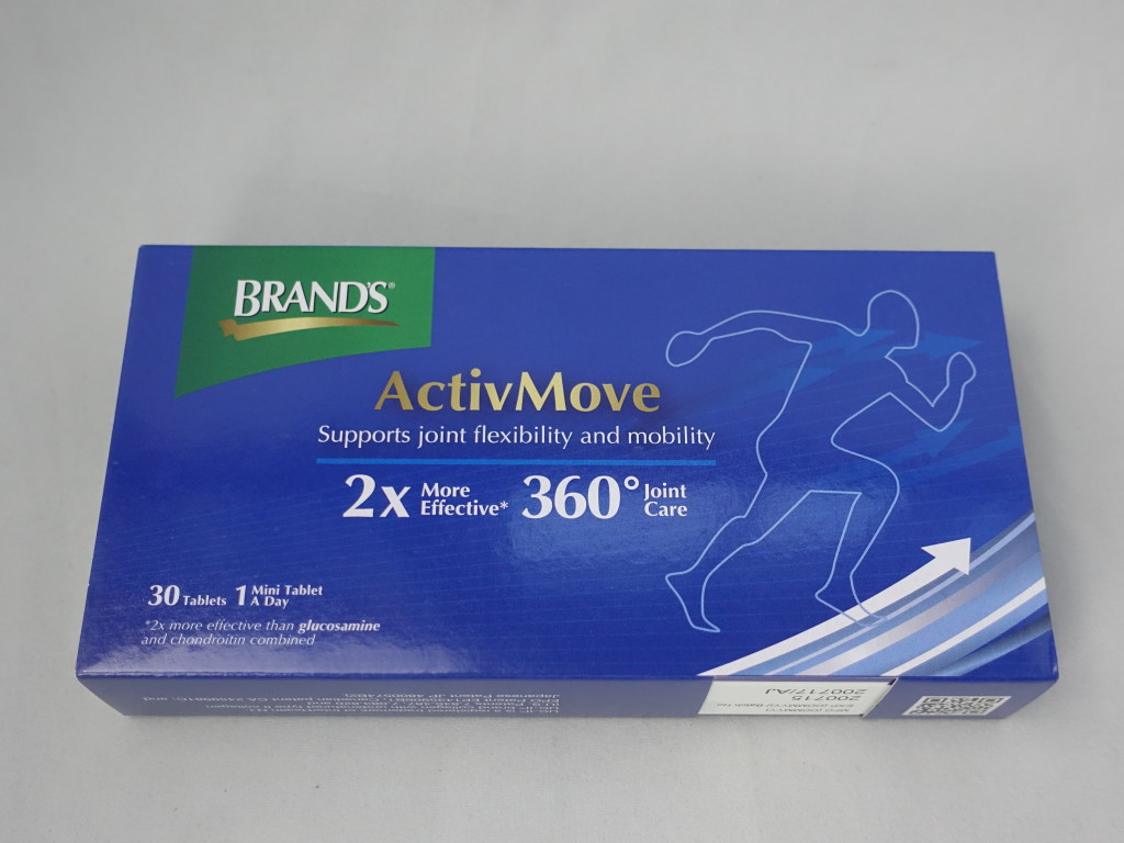 BRAND'S ActivMove can prevent joint pains.