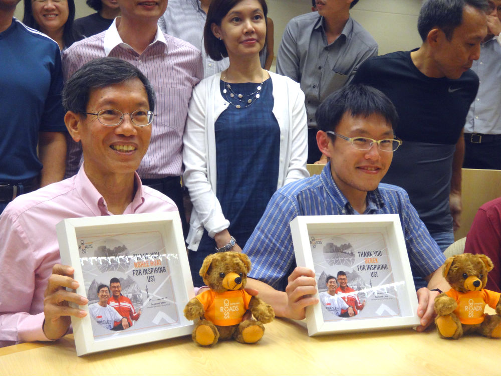Mr Lim Nghee Huat (left) and Dr Derek Li (right).