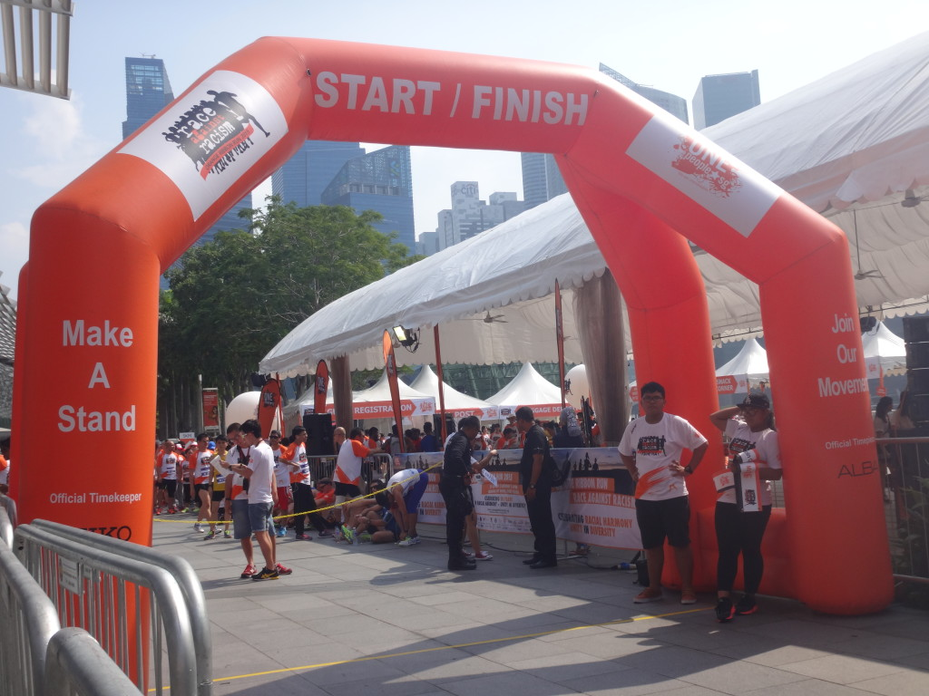 Orange Ribbon Run took place today.