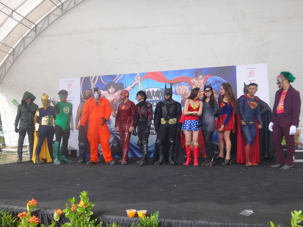 Plenty of superheroes in plain sight.