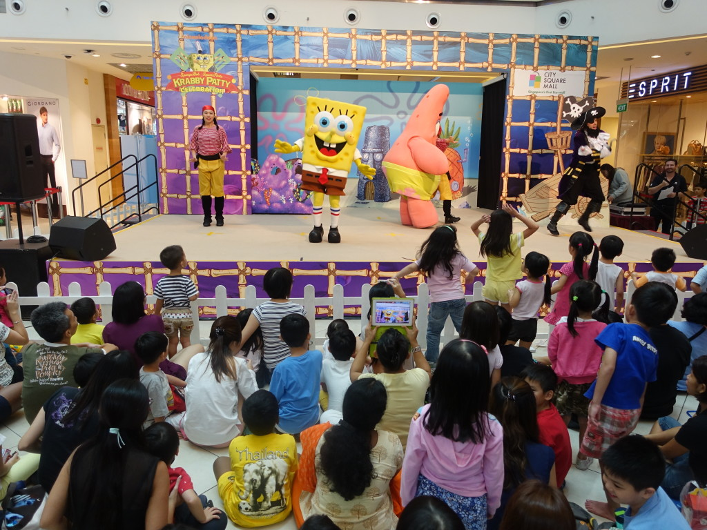 Catch Spongebob in a themed live show.