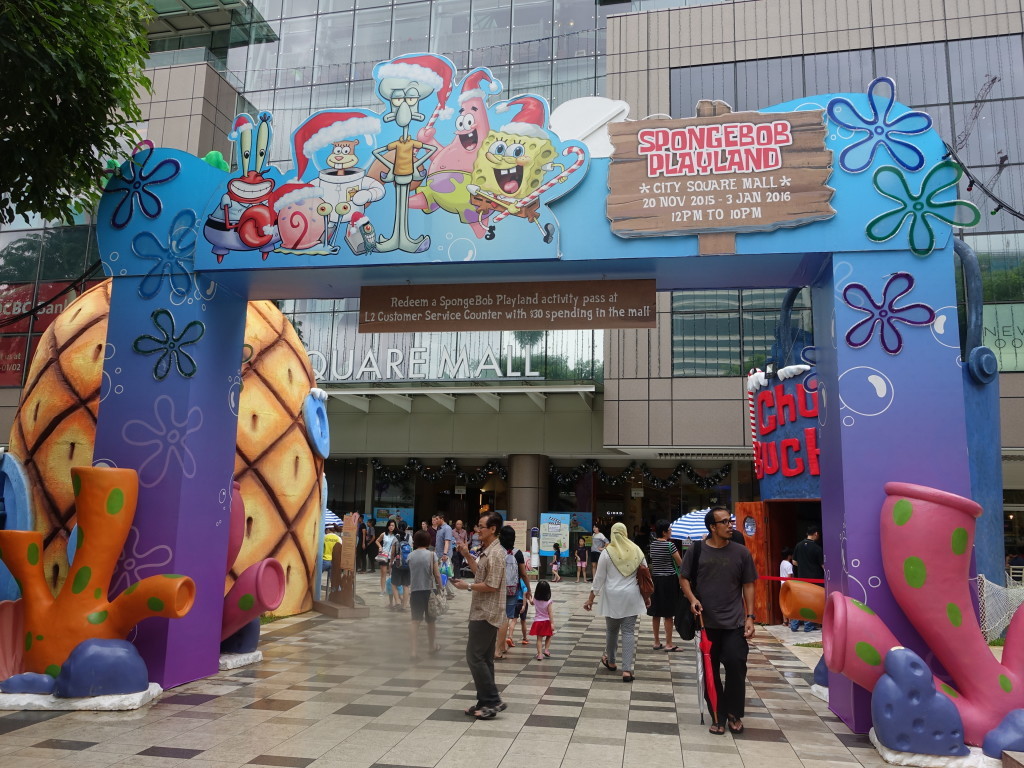 This Christmas, immerse yourself into the world of Spongebob Squarepants at City Square Mall.