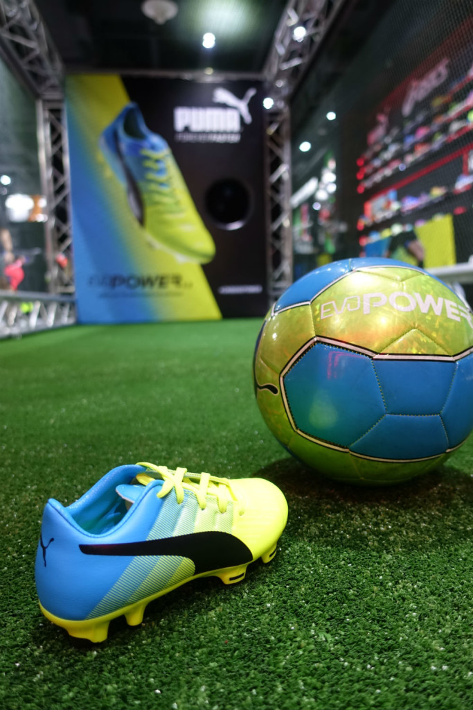 Take part in the evoPOWER challenge and find out how powerful your kick is.