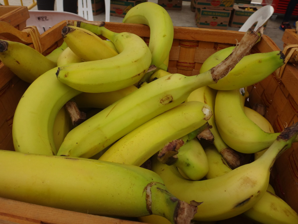 Bananas for carbs and energy.