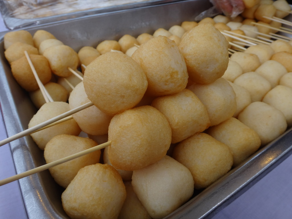 The fishballs were tasty.