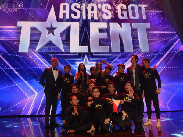 El Gamma are the winners of the inaugural Asia's Got Talent.